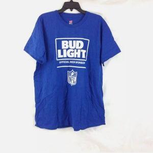 Hanes Bud Light NFL SponsorMensTshirt